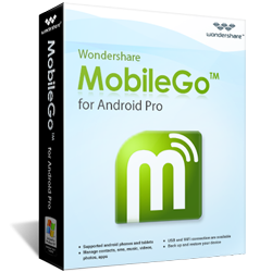 Wondershare MobileGo for Android Pro mac