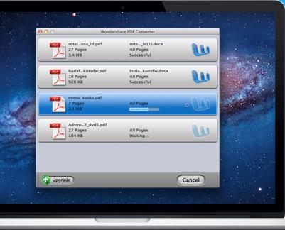 Wondershare PDF Converter Pro mac