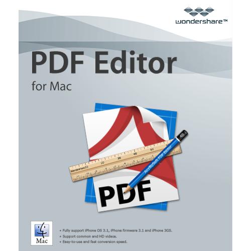 Wondershare PDF Editor mac