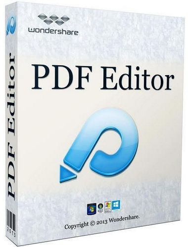 Wondershare PDF Editor new