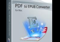 Wondershare PDF to EPUB Converter for mac