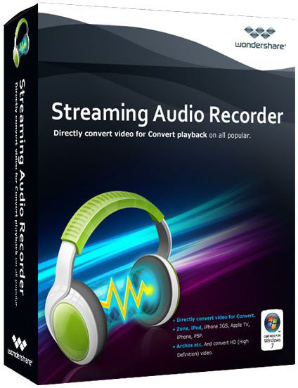 Wondershare Streaming Audio Recorder new